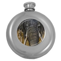 In the Mist Round Hip Flask (5 oz)