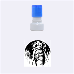 In the Mist Rubber Round Stamps (Small)
