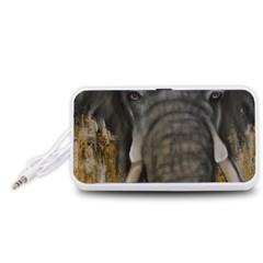 In the Mist Portable Speaker (White)