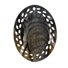 In the Mist Oval Filigree Ornament (2-Side)