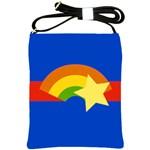 Rainbow Shoulder Sling Bag Front