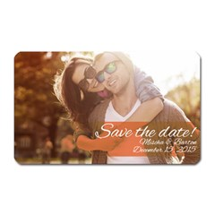 Save The Date Magnet (rectangular)