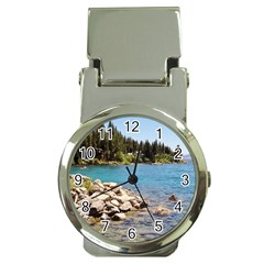 Nevada Lake Tahoe  Money Clip Watches
