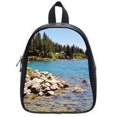 Nevada Lake Tahoe  School Bags (Small)