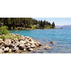 Nevada Lake Tahoe  You Are Invited 3d Greeting Card (8x4)
