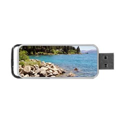 Nevada Lake Tahoe  Portable Usb Flash (two Sides)