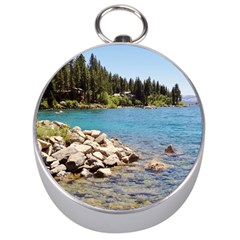 Nevada Lake Tahoe  Silver Compasses
