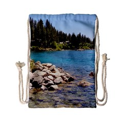 Nevada Lake Tahoe  Drawstring Bag (small)