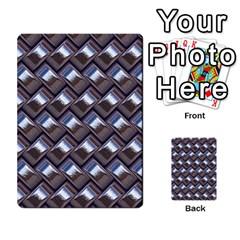 Metal Weave Blue Multi Purpose Cards (rectangle)