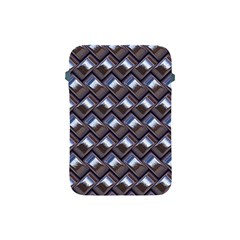 Metal Weave Blue Apple iPad Mini Protective Soft Cases