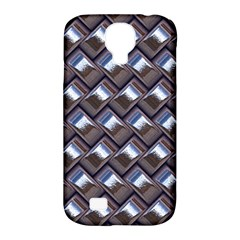 Metal Weave Blue Samsung Galaxy S4 Classic Hardshell Case (PC+Silicone)