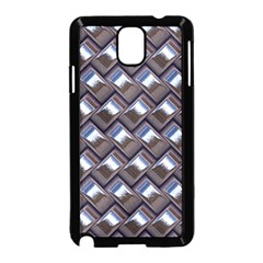 Metal Weave Blue Samsung Galaxy Note 3 Neo Hardshell Case (black)