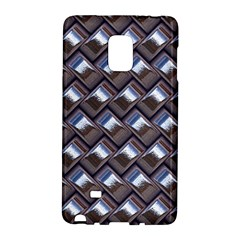 Metal Weave Blue Galaxy Note Edge