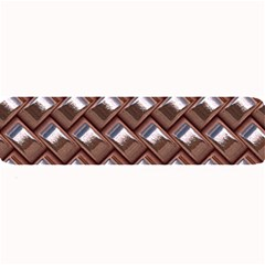 Metal Weave Pink Large Bar Mats