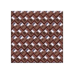 Metal Weave Pink Acrylic Tangram Puzzle (4  x 4 )