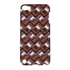Metal Weave Pink Apple iPod Touch 5 Hardshell Case