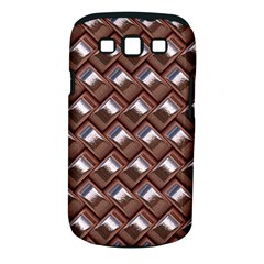 Metal Weave Pink Samsung Galaxy S III Classic Hardshell Case (PC+Silicone)