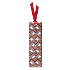 Metal Weave Pink Small Book Marks