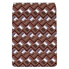 Metal Weave Pink Flap Covers (L)