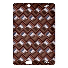Metal Weave Pink Kindle Fire HD (2013) Hardshell Case