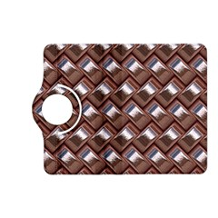 Metal Weave Pink Kindle Fire Hd (2013) Flip 360 Case