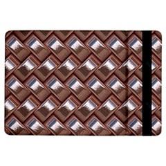 Metal Weave Pink iPad Air Flip
