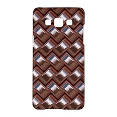 Metal Weave Pink Samsung Galaxy A5 Hardshell Case