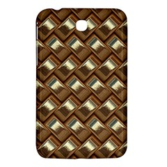 Metal Weave Golden Samsung Galaxy Tab 3 (7 ) P3200 Hardshell Case