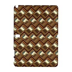 Metal Weave Golden Samsung Galaxy Note 10.1 (P600) Hardshell Case