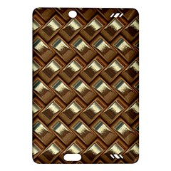 Metal Weave Golden Kindle Fire HD (2013) Hardshell Case