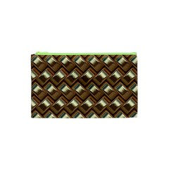 Metal Weave Golden Cosmetic Bag (xs)