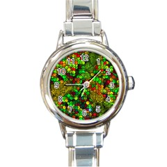 Artistic Cubes 01 Round Italian Charm Watches