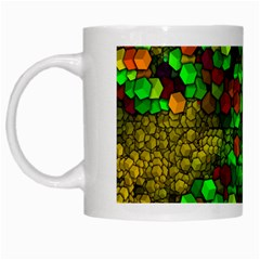 Artistic Cubes 01 White Mugs