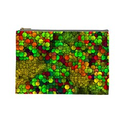 Artistic Cubes 01 Cosmetic Bag (Large)