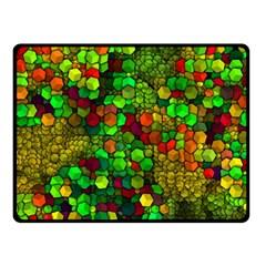 Artistic Cubes 01 Fleece Blanket (small)