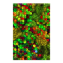 Artistic Cubes 01 Shower Curtain 48  X 72  (small)
