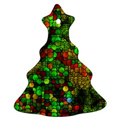 Artistic Cubes 01 Ornament (Christmas Tree)