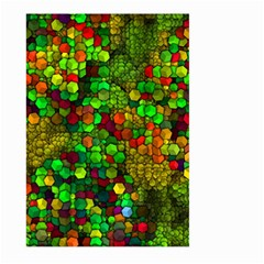 Artistic Cubes 01 Large Garden Flag (Two Sides)