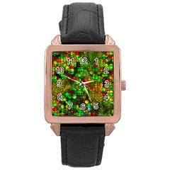 Artistic Cubes 01 Rose Gold Watches
