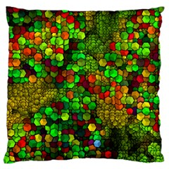 Artistic Cubes 01 Standard Flano Cushion Cases (One Side)