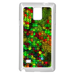 Artistic Cubes 01 Samsung Galaxy Note 4 Case (White)
