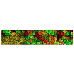 Artistic Cubes 01 Flano Scarf (Small)
