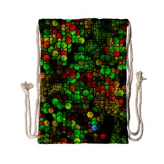 Artistic Cubes 01 Drawstring Bag (Small)