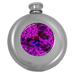 Artistic Cubes 2 Round Hip Flask (5 oz)