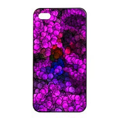 Artistic Cubes 2 Apple Iphone 4/4s Seamless Case (black)