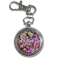 Artistic Cubes 3 Key Chain Watches