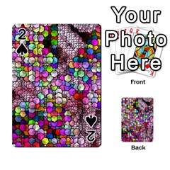 Artistic Cubes 3 Playing Cards 54 Designs