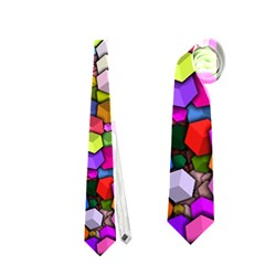 Artistic Cubes 3 Neckties (two Side)