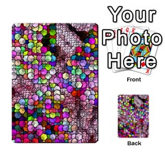 Artistic Cubes 3 Multi Purpose Cards (rectangle)