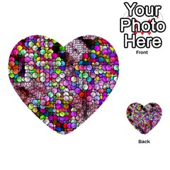 Artistic Cubes 3 Multi-purpose Cards (Heart)